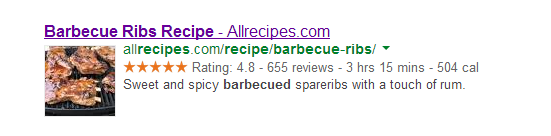AllRecipes Title