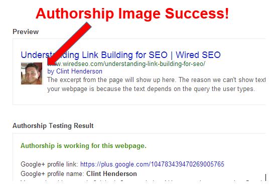 Google Authorship Verification