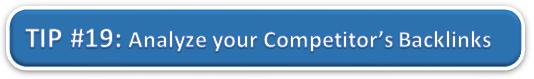 Analyze Competitor's Backlinks