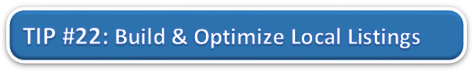 Build and Optimize Local Listings