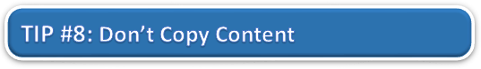 Don't Copy Content