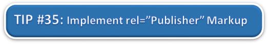 Implement Rel Publisher Markup