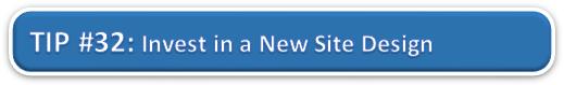 Invest in a New Site Design