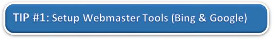 Setup Google and Bing Webmaster Tools