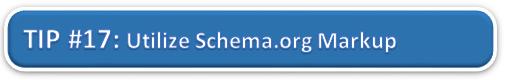 Utilize Schema.org Markup