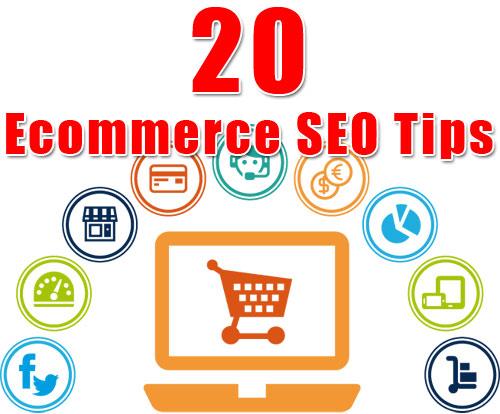 20 Ecommerce SEO Tips