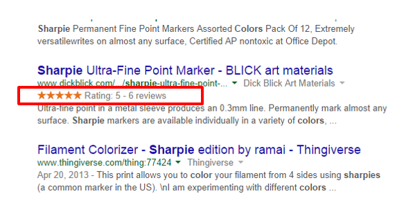 Product Reviews Structured Data
