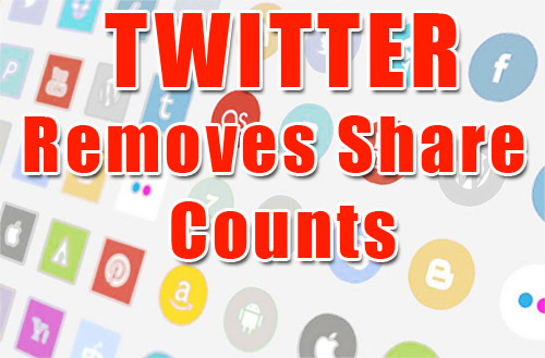 Twitter Removed Share Count