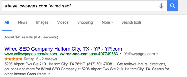 Citation Discovery Google Search