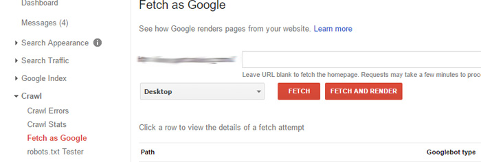 Submit URLs to Google for Faster Crawl